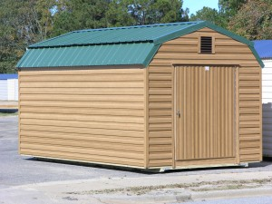 Gambrel pro built barns buildings and sheds for Gambrel roof metal building