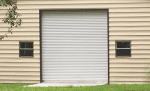 Roll-Up Garage Door